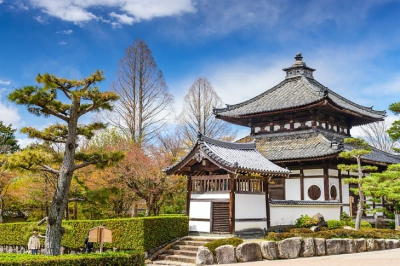 通天橋から眺める紅葉・東福寺