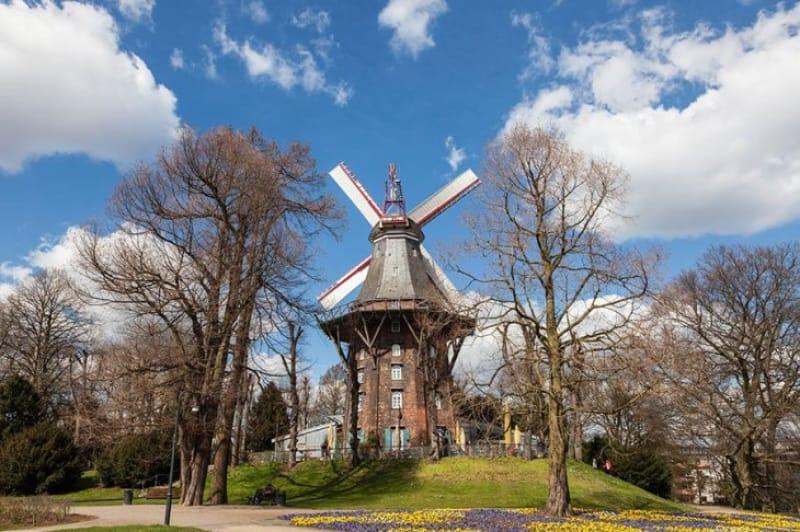 ブレーメン最古の公園「ブレーマー・ヴァルアンラーゲン」