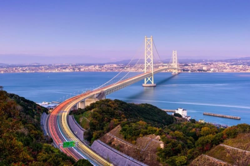 明石大橋を渡ってみたい