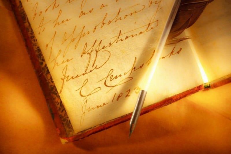 衝撃的内容の日記「ローマ字日記」