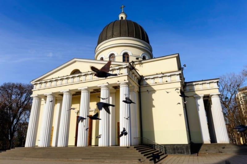 パステルカラーが可愛らしいナステレア大聖堂