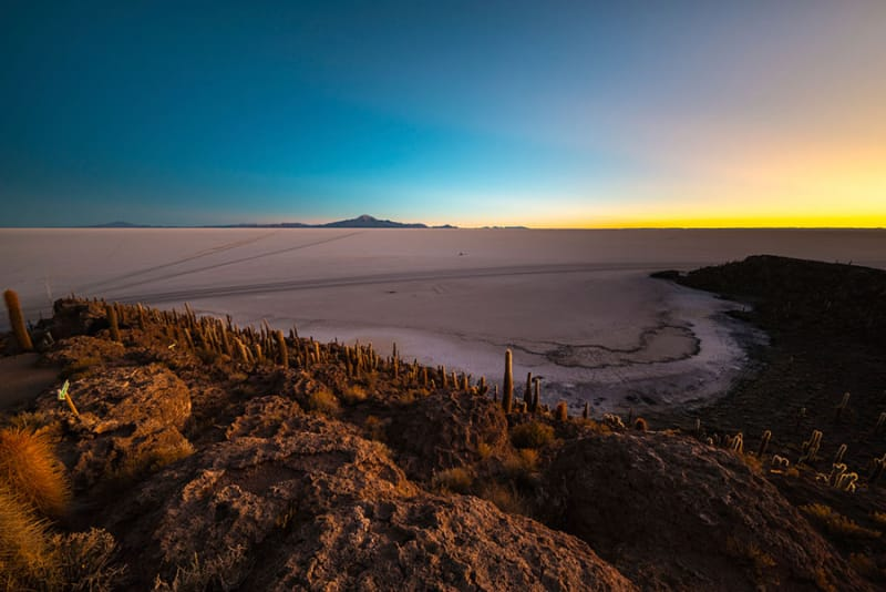 ボリビアのウユニ塩湖へは移動だけで、往復4日!?