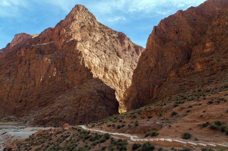 モロッコのグランドキャニオン、トドラ渓谷