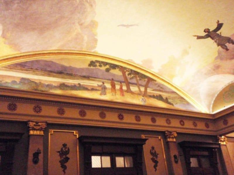 97007:古事記の物語を描きだした天井画