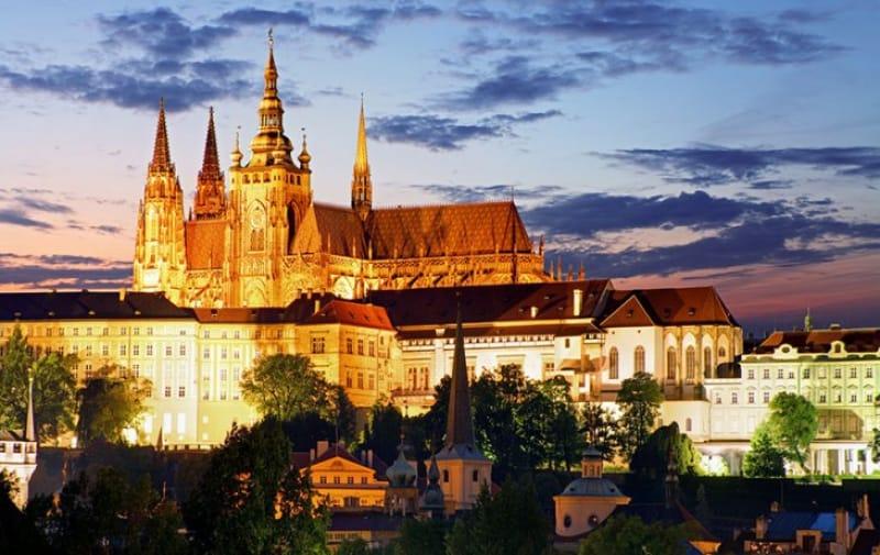 チェコ代表のプラハ城