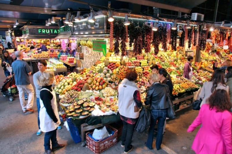 バルセロナの胃袋、ボケリア市場