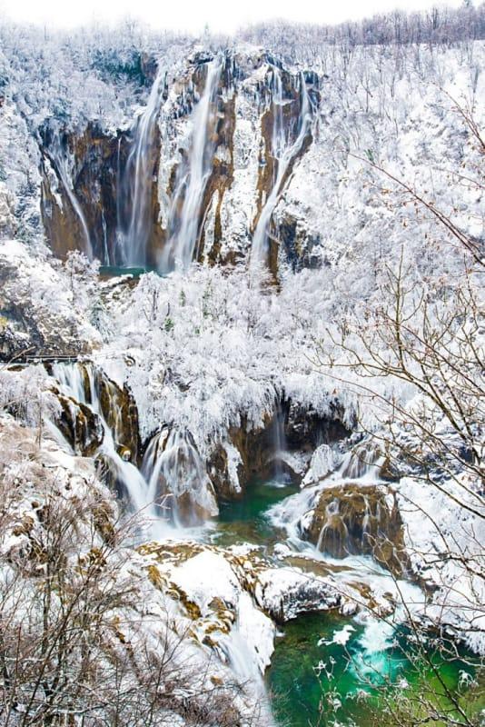 銀世界の冬も素敵
