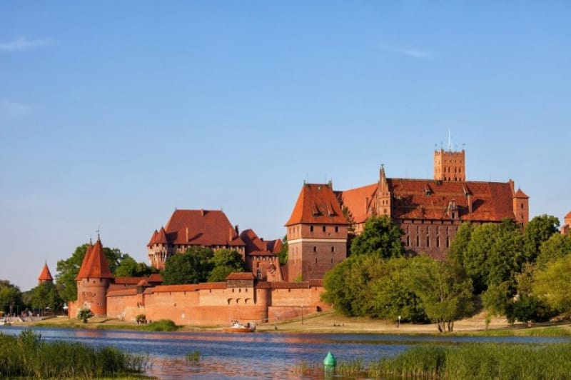 中世ヨーロッパ最大級の城!ドイツ騎士団の城