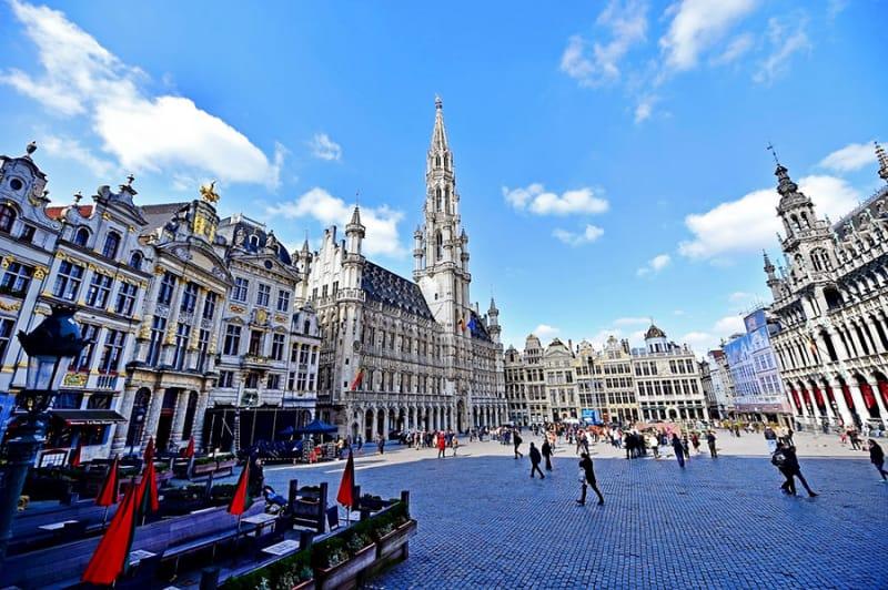ブリュッセルのグラン-プラスってこんなところ