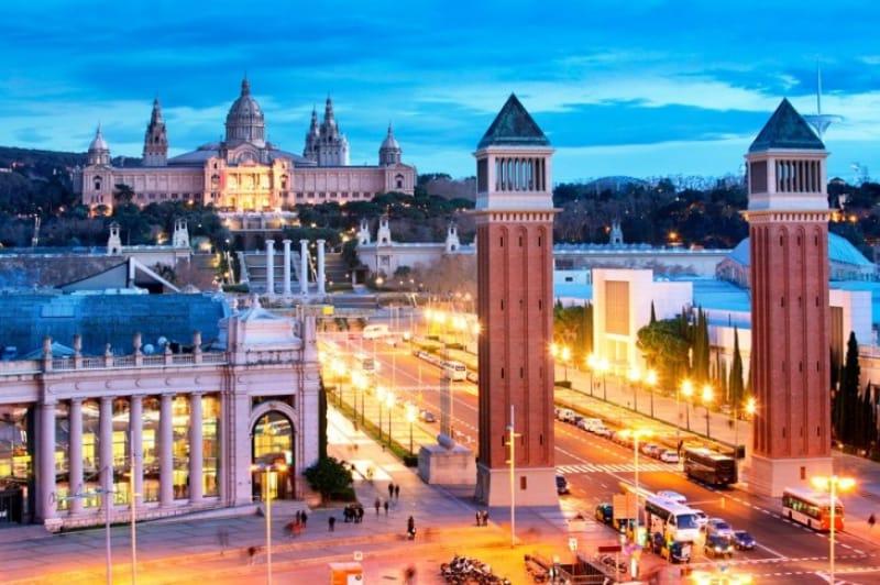 静かな観光の穴場、スペイン広場