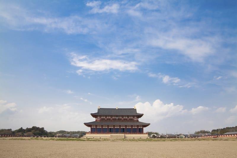 世界に誇る都を目指し造られた平城京