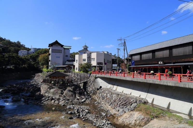 伊豆の小京都と呼ばれる観光街「修善寺温泉」