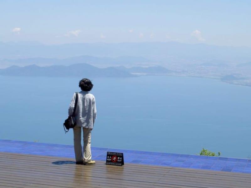 98426:琵琶湖を一望するびわ湖テラス