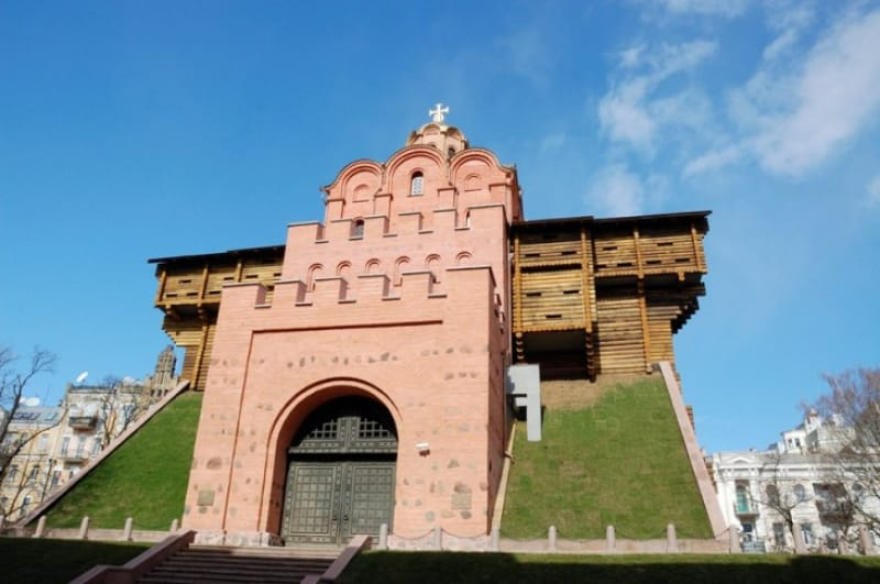 キエフの入口