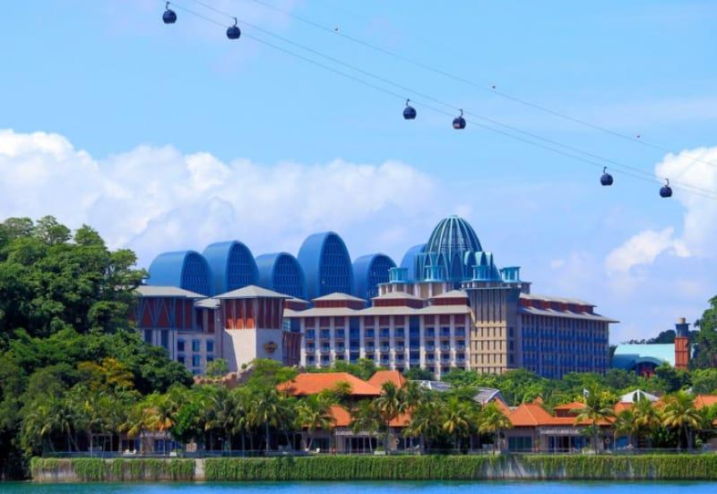 リゾートワールドとハードロックホテルシンガポール