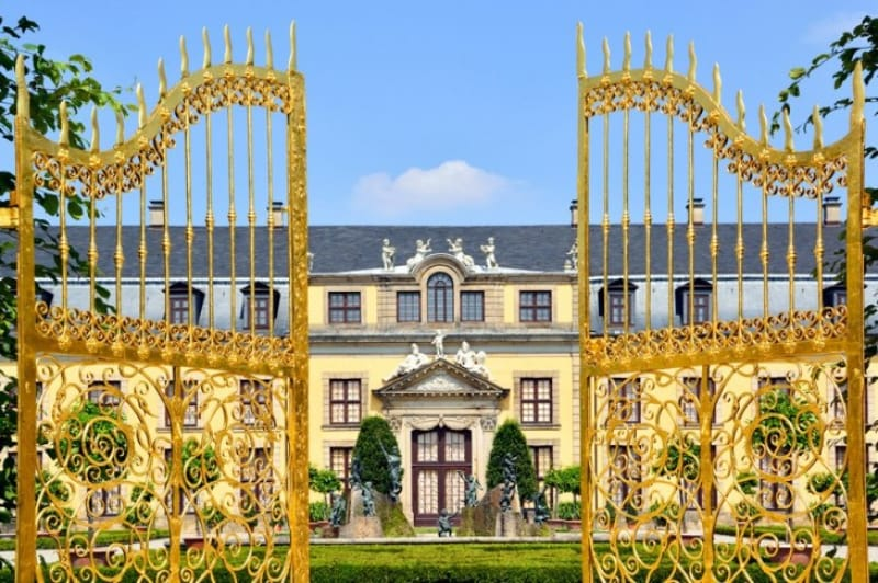 300年の歴史を誇る ヘレンハウゼン王宮庭園
