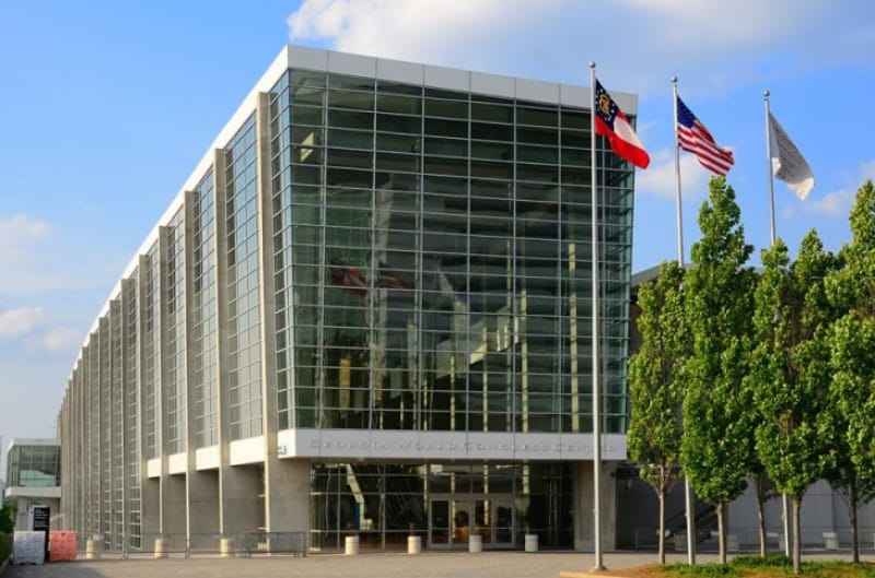 モダンなジョージアワールドコングレスセンター