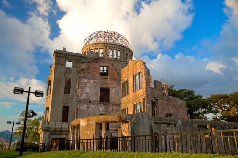 戦争の跡を伝える平和の発信地・広島