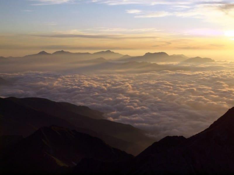 日本第3位の山頂へ