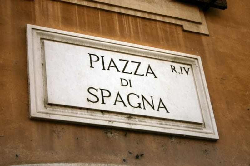 「スペイン広場」はいつできたの?