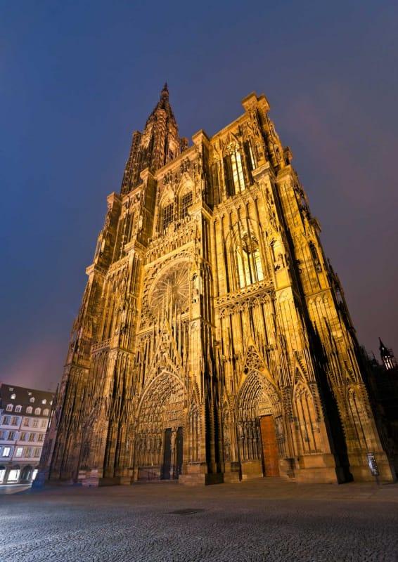 世界の教会で第6位を誇る ストラスブール大聖堂