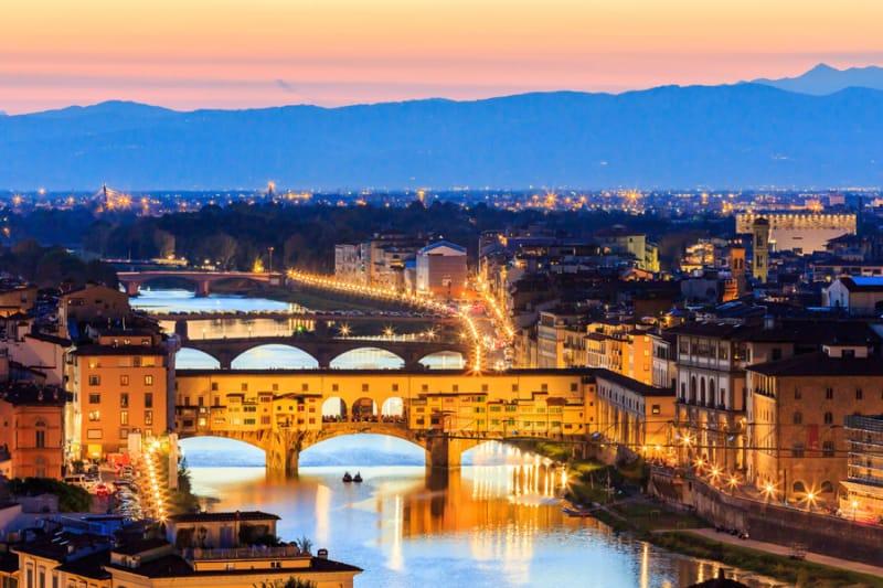 10位 イタリア/フィレンツェ歴史地区