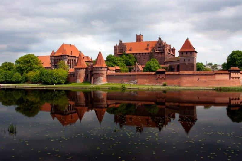 ドイツ騎士団の居城マルボルク城