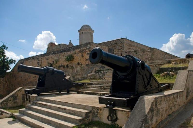 ハバナで最古のフエルサ要塞