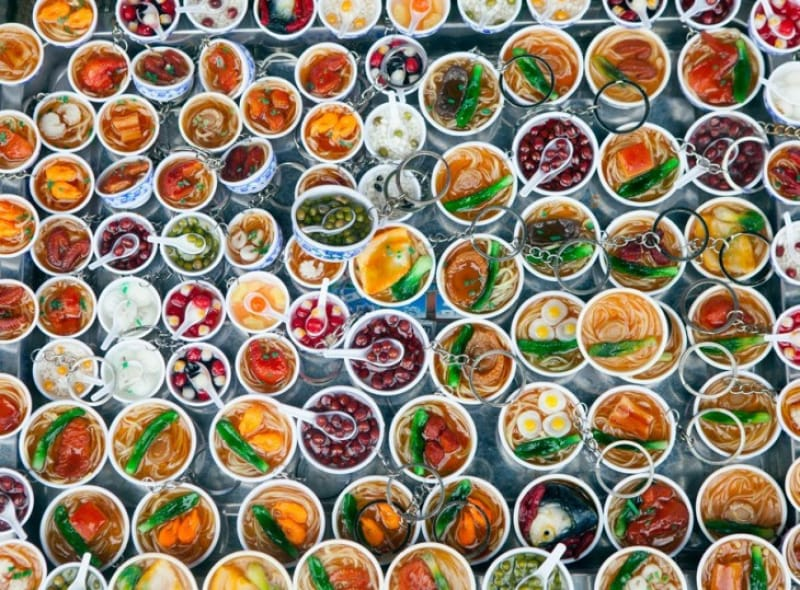 オススメのお土産は、かわいい食品サンプル