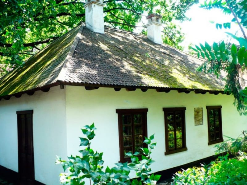 ロシアの詩人プーシキンが住んだ家