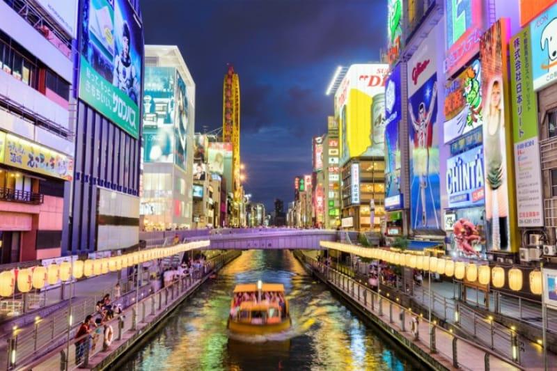 梅田とはまた違った都会の雰囲気溢れる『心斎橋』