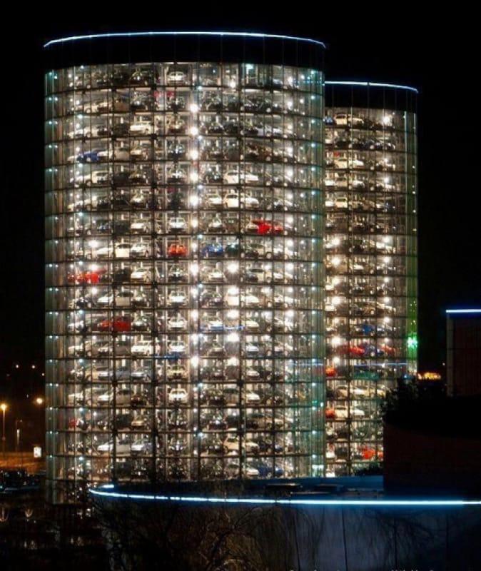 フォルクスワーゲン・カータワー(Car Towers, Autostadt)