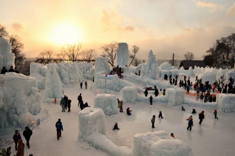 93112:支笏湖は、「支笏湖氷濤まつり」も外せない!