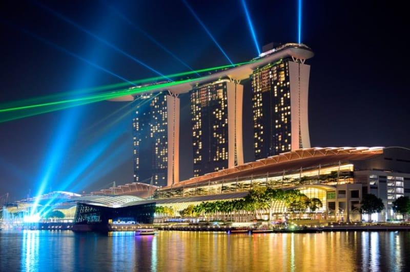 マリーナベイ・サンズ(Marina Bay Sands)/シンガポール・マリーナ・ベイ