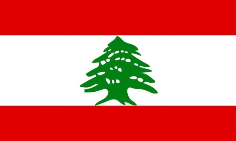 レバノンの国旗に描かれた杉の木