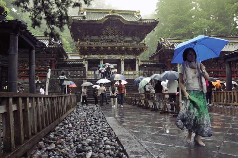 9位 栃木県/日光の社寺