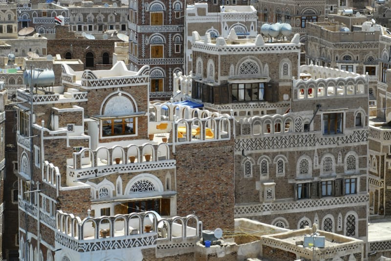 「サナア旧市街」はこんな絶景!