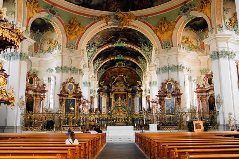 ザンクト・ガレン修道院の歴史