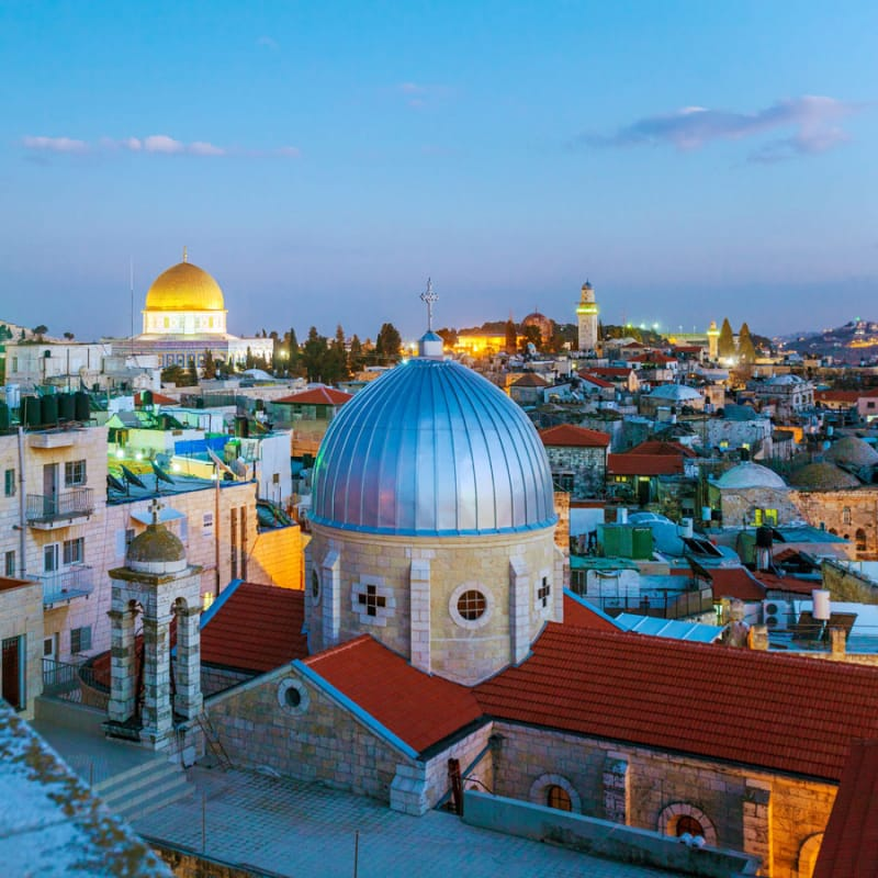エルサレムの旧市街とその城壁群ってこんなところ