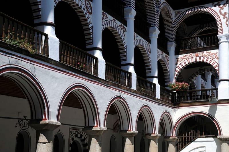 ブルガリア復興期のリラ修道院