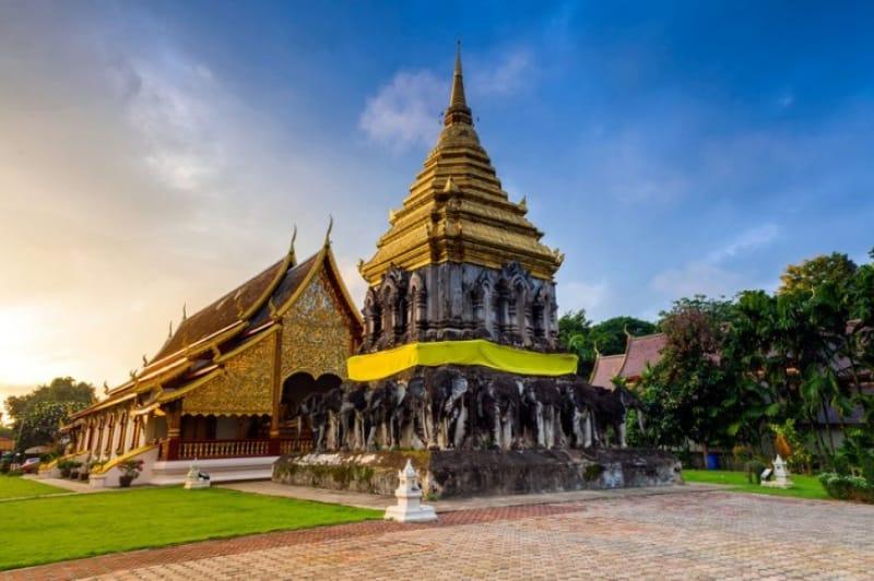 チェンマイ最古の寺院 ワット・チェン・マン