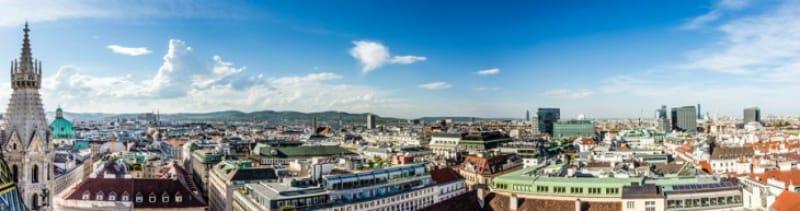 ウィーンは世界で有数の美しい街