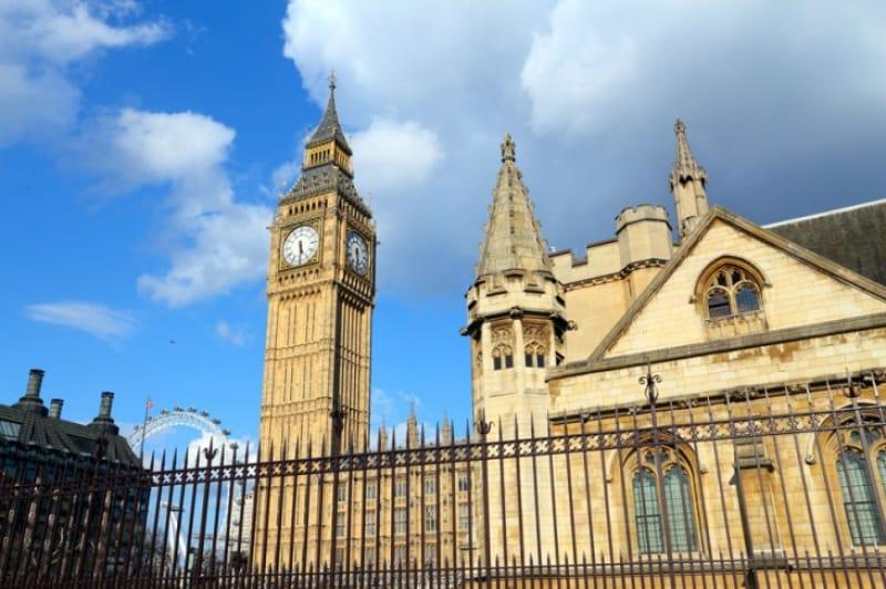 イギリスの議会の初期の歴史