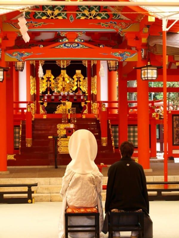 生田神社は神前結婚式も人気!
