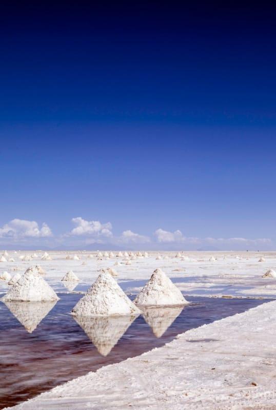 塩の採掘場