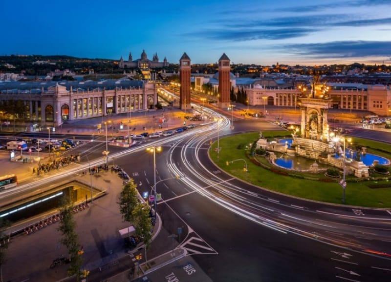 バルセロナのスペイン広場