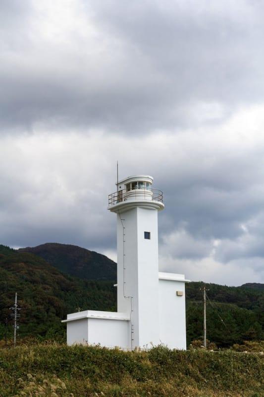 秋田の最北端・チゴキ灯台
