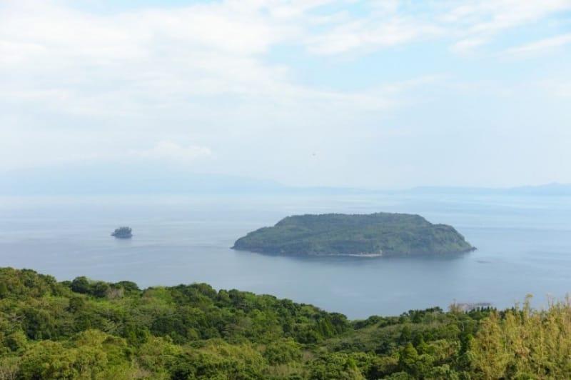 鰻湖も面白いし錦江湾の知林ヶ島(ちりんがしま)も面白い