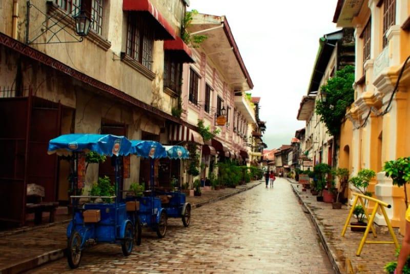 スペイン統治時代の歴史都市!ビガン歴史都市