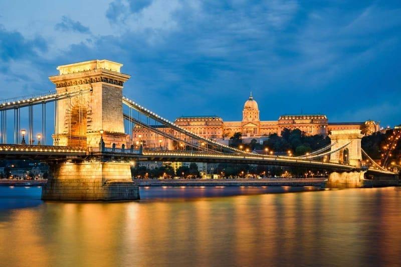 「ブダペスト」は橋が作った